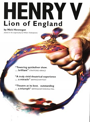 Henry V ­ Lion of England at The Wheatsheaf, Fitzrovia